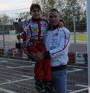 Circuito di Casaluce: il giovanissimo Scarpetta vince la 1 Winter Series