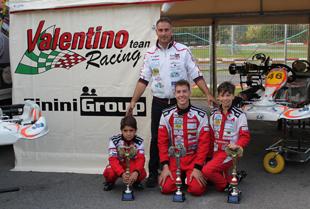 La Valentino Racing sul circuito Iscaro