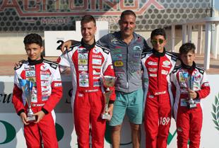 Tris a Battipaglia per la Valentino Racing